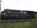 NS 3637 (ET44AC) trails on UP MNSEW